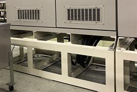 漏電に備え制御装置の高床化